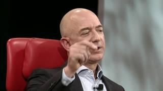 Donald Trump, Peter Thiel & space | Jeff Bezos, CEO Amazon | Code Conference 2016