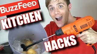 Testing Buzzfeed Kitchen Hacks That REALLY Work- Cooking Hacks 2017 | TC #188