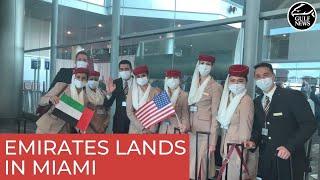 Dubai to Miami: Emirates completes maiden flight to Florida's second-largest city