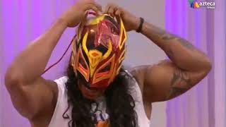 Dragon rojo Jr se quita la mascara en vivo!!!!
