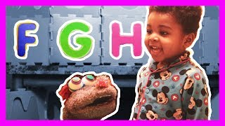 Learn The Alphabets with Gruppy and Jonah   ABC Letter Games