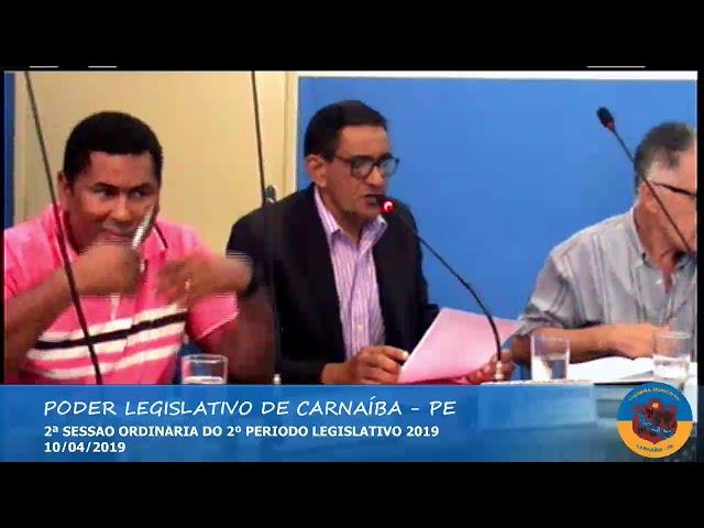 2ª sessão ordinária 2º período legislativo 2019 - Parte 01