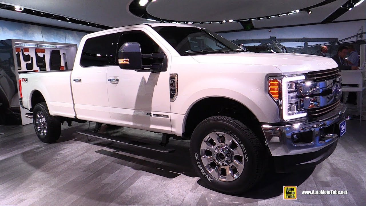 2018 ford f350 super duty king ranch exterior interior walkaround 2018 detroit auto show