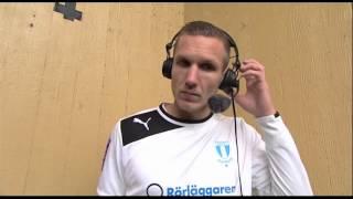 MFFtv: Robin Olsen efter vinsten mot Degerfors IF (2014-03-01)