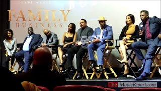 THE FAMILY BUSINESS Q&A with Carl Weber, Ernie Hudson, Darrin Henson, cast & crew - January 7, 2019
