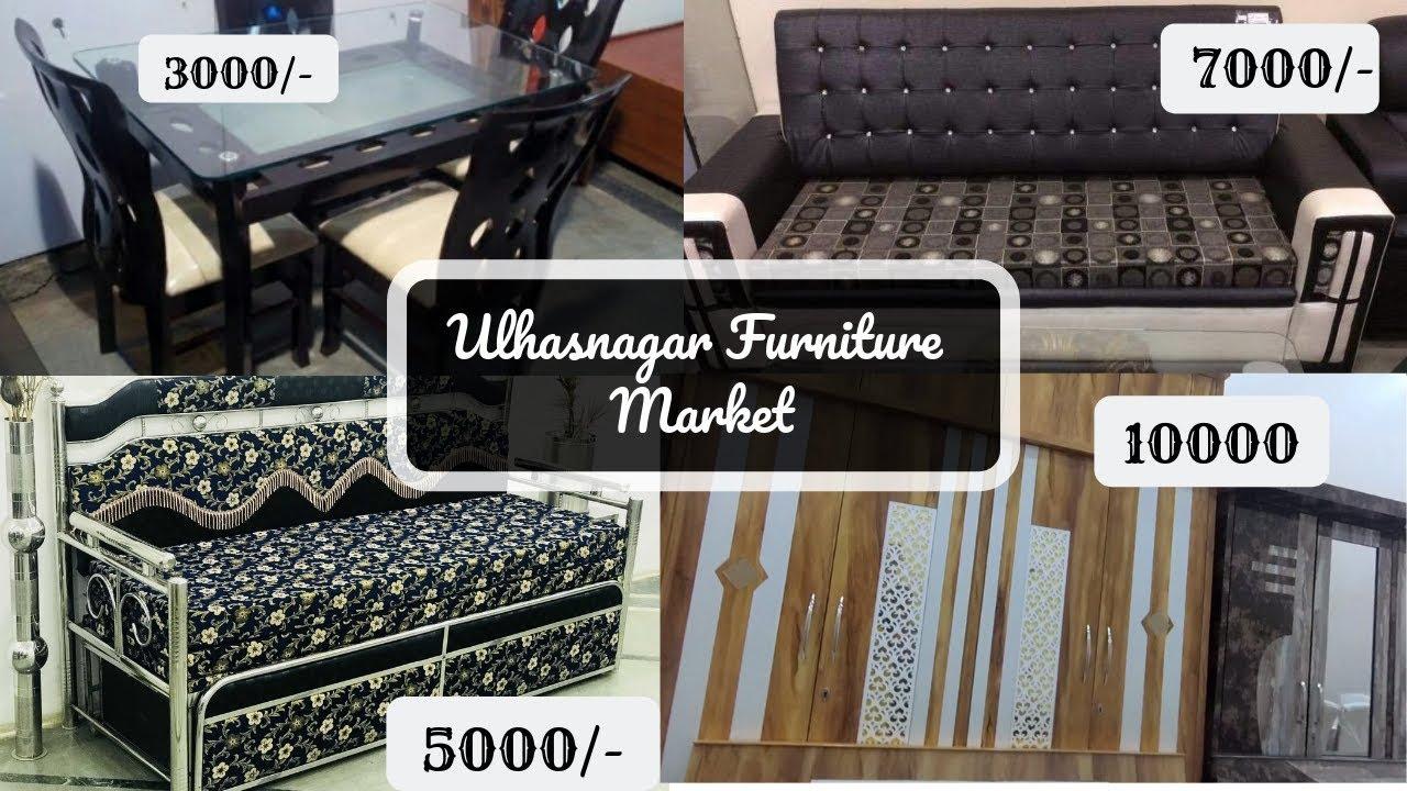 Wholesale Furniture Market In Mumbai Cheapest Rates Ever Ulhasnagar Furniture Market Youtube