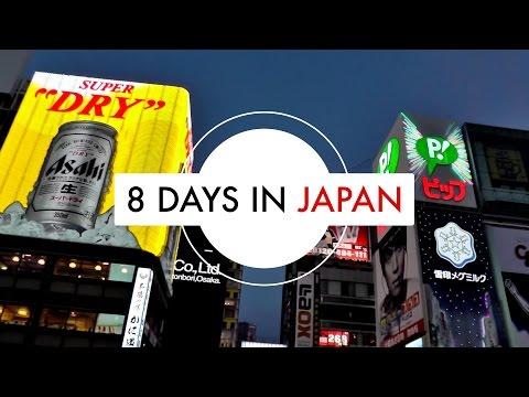 8 days in Japan: Kyoto, Osaka, Nara & Univeral Studios