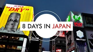 8 days in Japan: Kyoto, Osaka, Nara & Univeral Studios