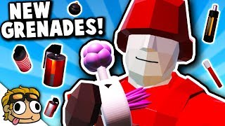 TONS OF CRAZY NEW GRENADES! | Ravenfield...