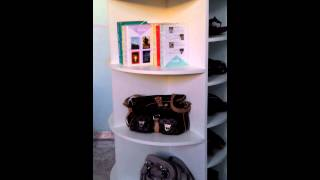 Sapateira - GiratÓria - UniversitÁria - Lazy Susan Shoe Rack