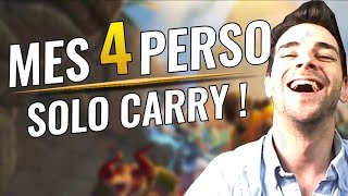 MES 4 PERSO OP POUR CARRY SOLO (JEU GRATUIT) ! Best Of Paladins Gameplay FR