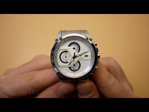 CADISEN TOURNANT - C-9018G Chronograph Watch review | Aliexpress watches China ⌚ Wrist watch for men