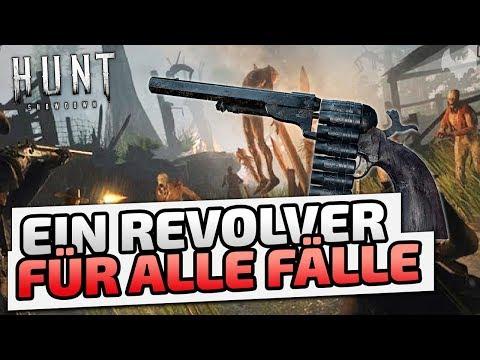 Revolver für alle Fälle - ♠ Hunt: Showdown ♠ - Deutsch German - Dhalucard