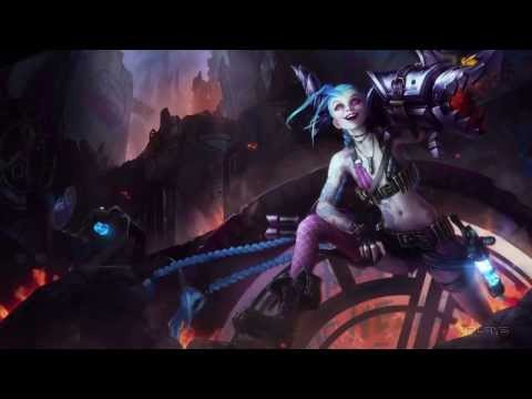 Jinx Login Screen + Lyrics [1080p] League of Legends