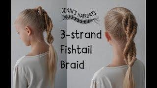 3-strand fishtail braid