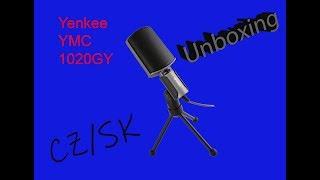UNBOXING - Mikrofon Yenkee YMC 1020GY!