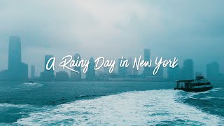 A Rainy Day in New York - Galaxy S7 Cinematic 4K