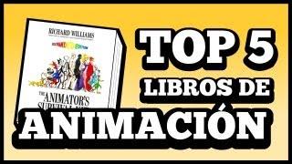 Top 5 Libros de Animación!