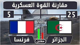 الجزائر مقابل فرنسا - مقارنة القوة العسكري