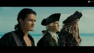 Pirates of the Caribbean 3 - At Worlds End Island meeting