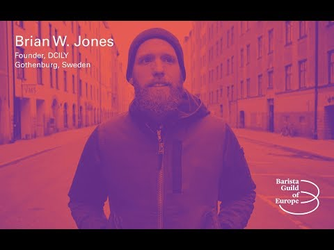 Brian W  Jones – Barista AKA Brand Ambassador