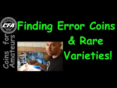 Search Coins for Errors & Rare Varieties | How to find Coin value in Pocket Change