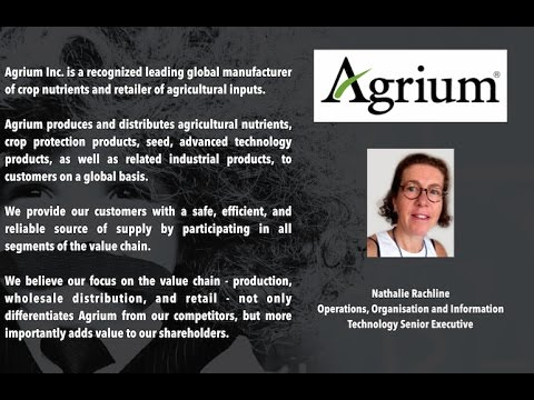 AGRIUM : Introduction de la table Ronde N°1