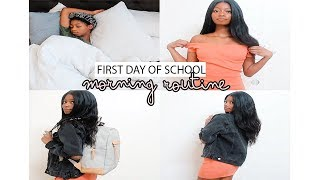 FIRST DAY OF COLLEGE (SCHOOL MORNING ROUTINE 2018)