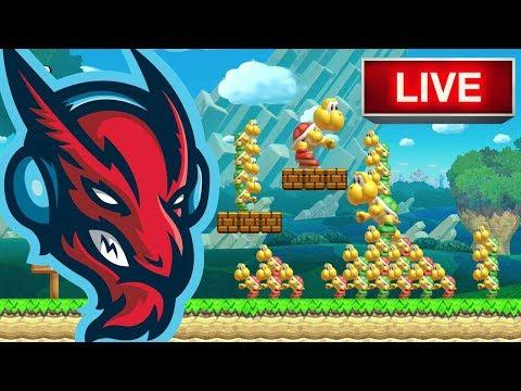 Super Mario Maker // Luigi's Balloon World [LIVE]