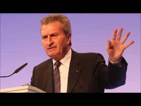 EU commissioner Oettinger apologises for China speech