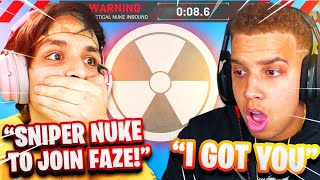 "THIS HAPPENED IN MY ""FAZE CLAN"" TRYOUT..."