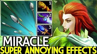 MIRACLE [Windranger] Insane Focus Fire Annoying Effects Build 7.24 Dota 2