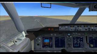 FSX - Full Flight - London Heathrow To Spain Alicante - Boeing 737-800 - Orbit Airlines