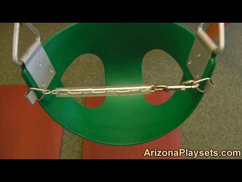 Gorilla Playsets Half Baby Bucket Swing Review from Arizona Playsets