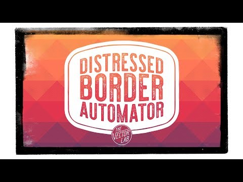 Distressed Border Automator for Photoshop