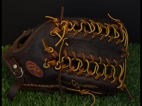Rawlings Primo PRM1275 Baseball Glove Relace - Before and After Glove Repair