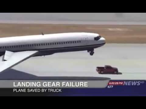 Nissan frontier saves crushing plane