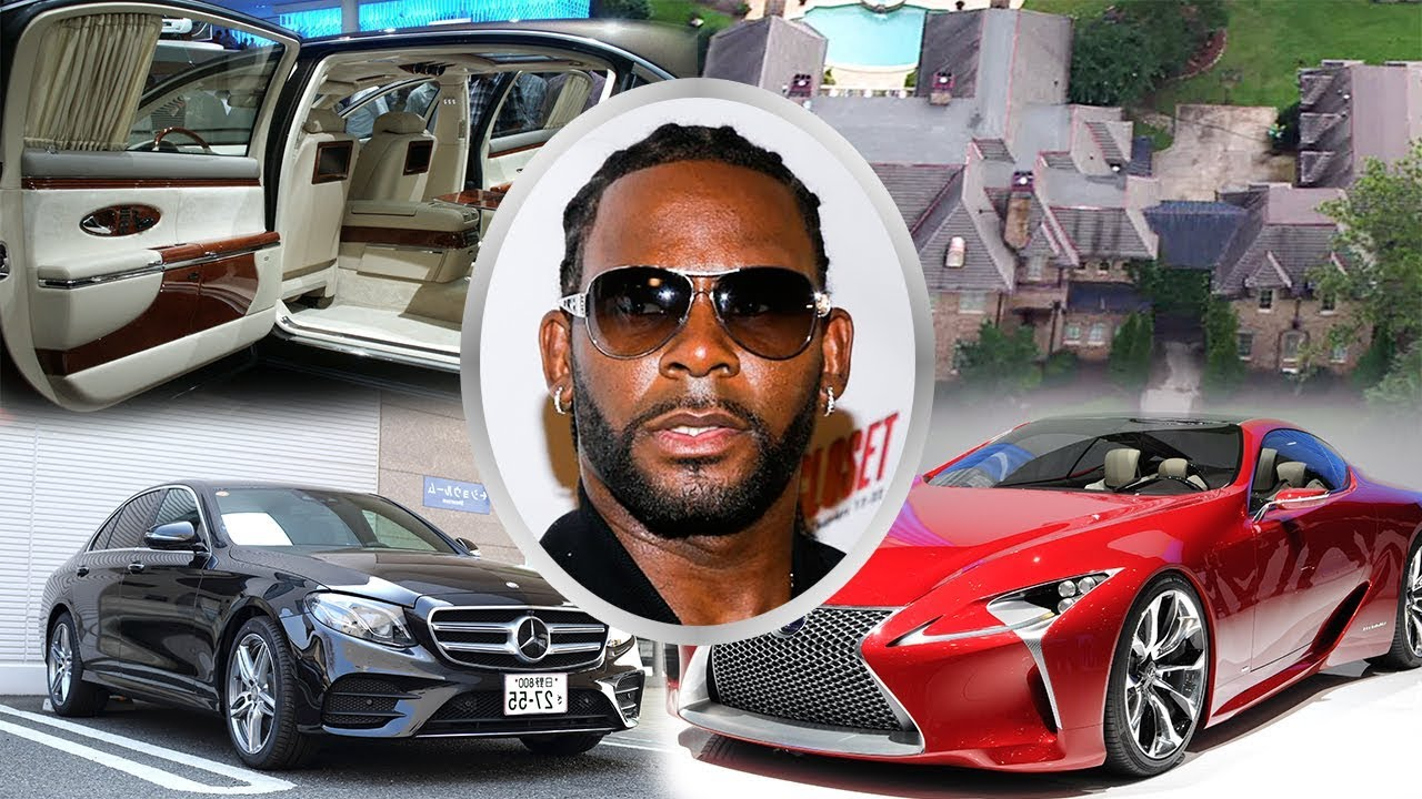 photo of R. Kelly Lexus LF-LC - car