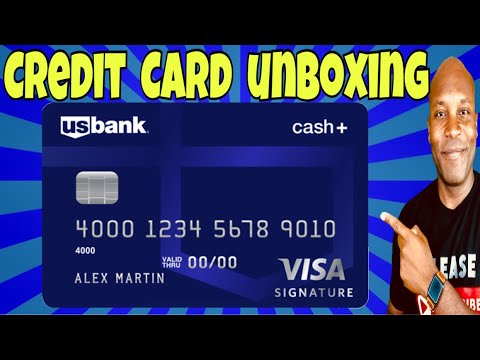 US BANK CREDIT CARD - Credit Card Unboxing