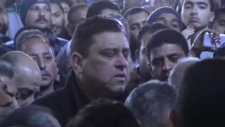 مصر العربية | صلاة الجنازة على جثمان الراحلة كريمة مختار بمسجد عمرو بن العاص