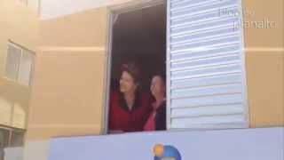 Dilma entrega casas do Minha Casa Minha Vida em Campinas (SP)