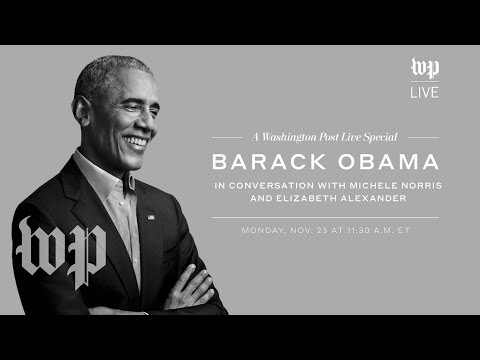 Barack Obama talks about his new memoir 'A Promised Land' | The Washington Post