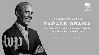 Former president Barack Obama talks about his new memoir | Washington Post Live (11/23)