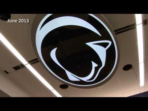 Pegula Ice Arena advance tour - Locker Room