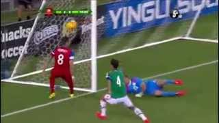 Mexico vs Estados Unidos 2 - 2 Amistoso 02 04 2014 ( Goles )