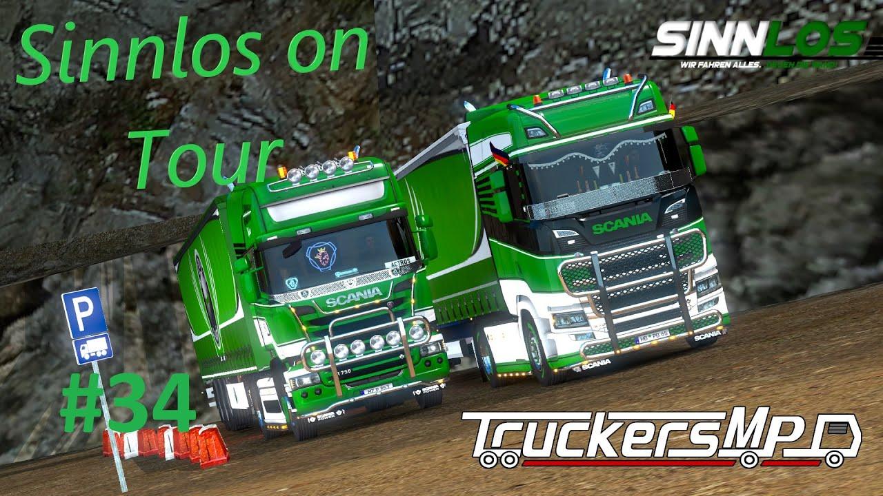 Sinnlos on Tour #34 | Vom Treffen bis hinzu Rettungsaktionen | TruckersMP