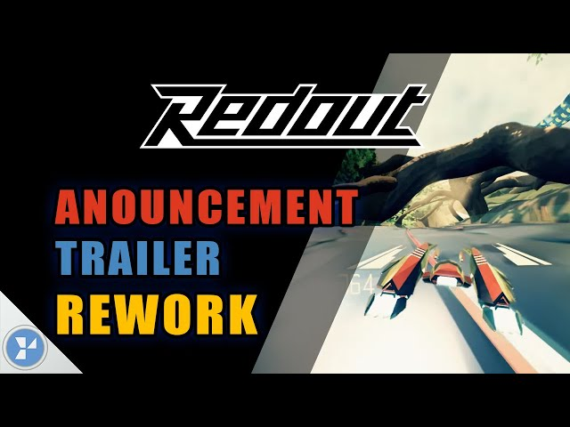 Redout Announcement Trailer Rework