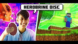 I FOUND HEROBRINE DISC IN NETHER || FUNNY ANDROID HINDI GAMEPLAY MINECRAFT || Finestly