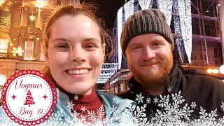 Christmas Shopping in Victoria Square Belfast, Lush and Little Wing Pizza | Vlogmas Day 19 | Jenny E