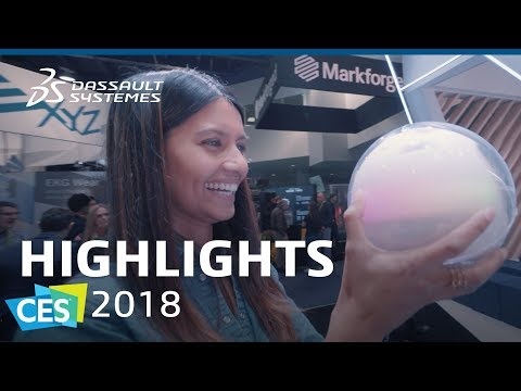 CES 2018 - Highlights - Dassault Systèmes